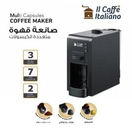 Multi Capsules Coffee Machine - Black color