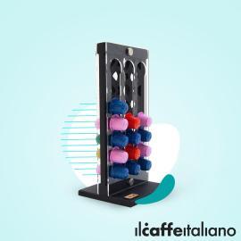 Espresso Decorated Stand  (Black)